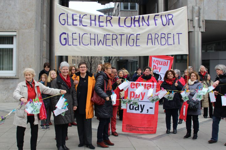 equal pay day - Frauen in Ation