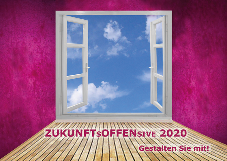 Postkarte der Zukunftsoffensive 2020