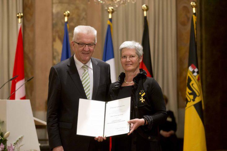 Verleihung des Dienstordensl an Frau Wörz