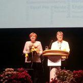 Bundeskanzlerin Angela Merkel sieht in den LandFrauen Brückenbauerinnen für die Gesellschaft.
