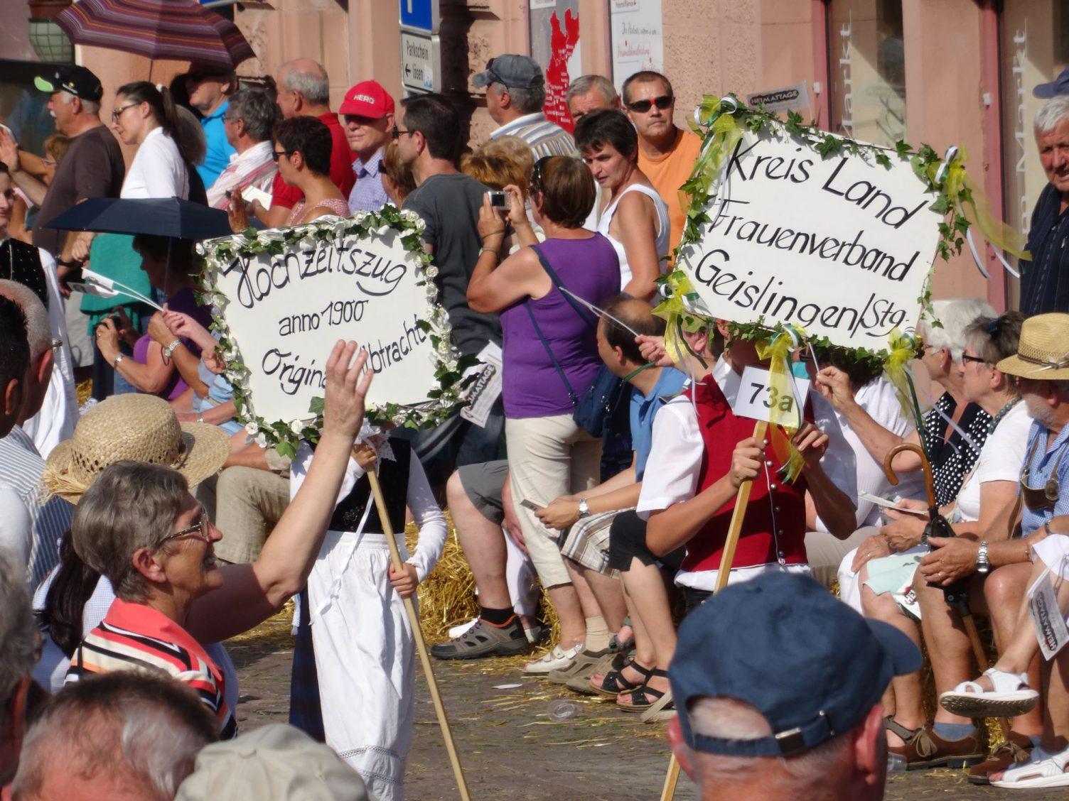 Tafelträger des KreisLandFrauenverbands Geislingen
