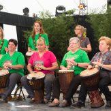 "Trommelgruppe ""alujo"" des LandFrauenvereins Sindringen"