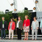 Das neue Präsidium des LandFrauenverbandes Württemberg-Baden e.V. wird vorgestellt.