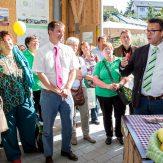 """Eröffnung der Ausstellung """"Make Fruit Fair"""" durch Peter Hauk MdL, Minister für Ländlichen Raum und Verbraucherschutz Baden-Württemberg"""