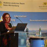 Vorsitzende Nurcan Tetik im Bezirk Jagsttal, LandFrauenkreisverband Heilbronn, berichtete über ihre erfolgreiche Inetgration im Jagsttal, wo sie sich ehrenamtlich engagiert.