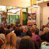 Präsidentin Marie-Luise Linckh begrüßte im vollbesetzten Saal des Naturparkzentrums das erwartungsvolle Publikum.