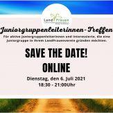 Save the Date! Online-Juniorgruppenleiterinnen-Treffen
